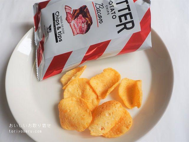 チップス&チップスのバターポテトチップス