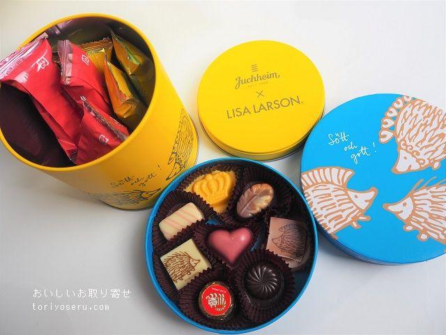 リサラーソン×ゴンチャロフ チョコレート