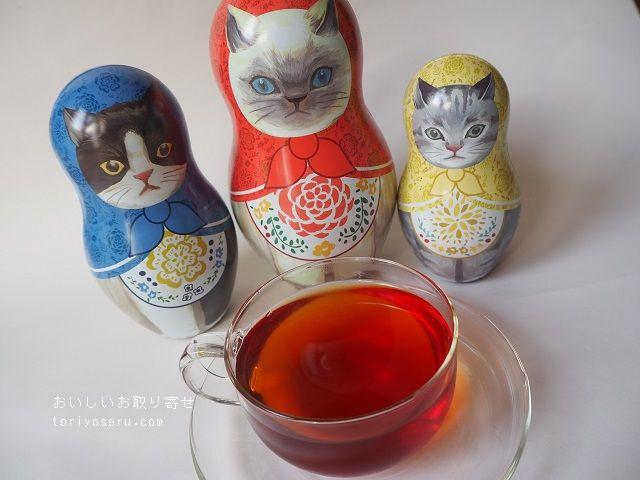 アフタヌーンティのマトリョーシカ缶紅茶