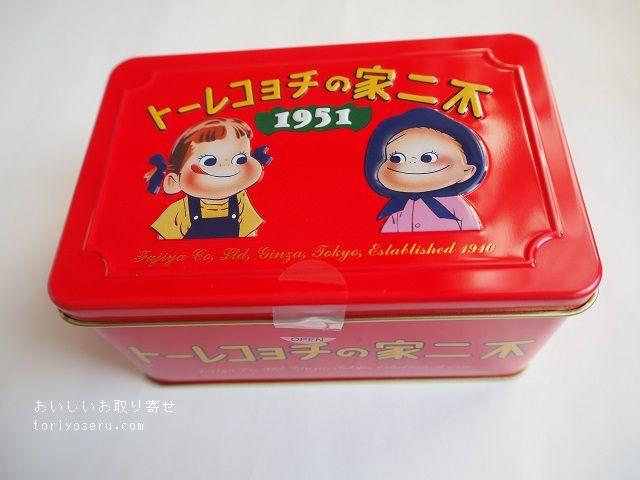 西洋菓子舗不二家・不二家の70周年記念缶