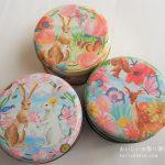 アフタヌーンティリビングの紅茶缶(うさぎ)