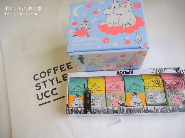 COFFEE STYLE UCCのCAFE@HOME ムーミン谷のFIKA+マグセット
