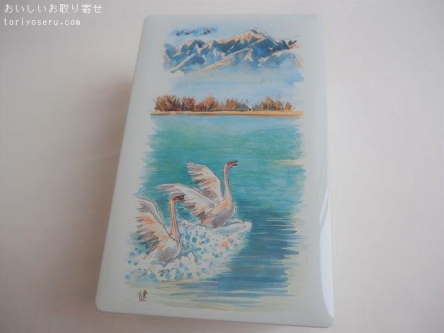 開運堂の白鳥の湖(缶)