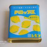中川政七商店の塩すいか飴、ドロップス缶