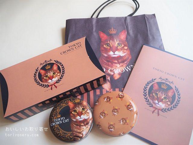 TOKYO CROWN CATのロイヤルミルクティウエハース&キャンディ缶