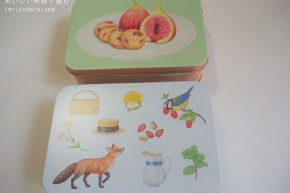 POMOLOGYポモロジーのクッキーボックス
