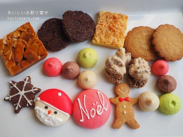 カフェタナカのクリスマスクッキー缶