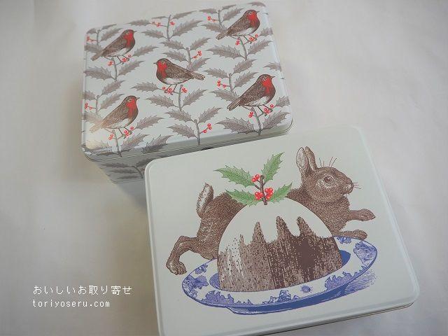 イギリス雑貨の店COTSWOLDSのクリスマス缶