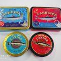 カルディ・」エウレカのキャビアチョコレート缶