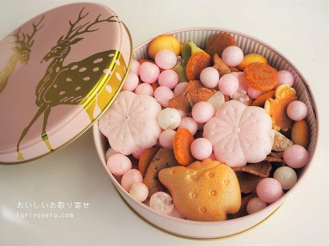中川政治商店のふきよせ缶(春)