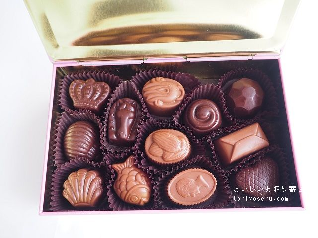 ルイスシェリーのトリュフチョコレート缶