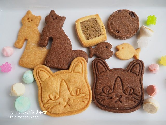 FRANCY JEFFRS CAFEの猫クッキー缶