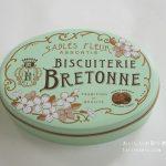 ブルトンヌのサブレ・フルール・アニヴェルセル缶